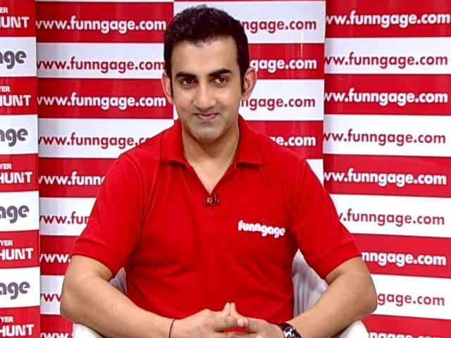 Video : Gautam Gambhir Becomes Super Selector
