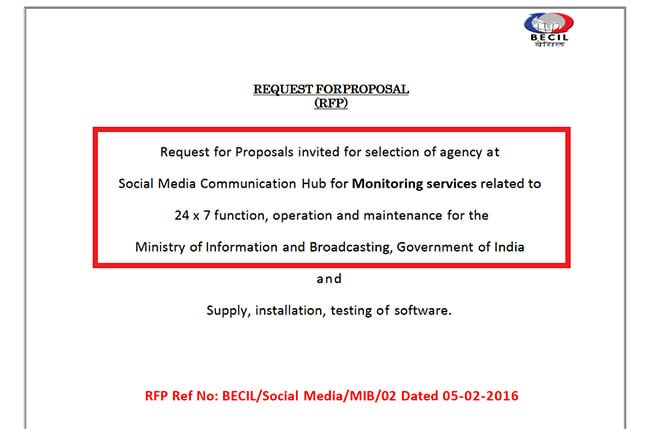 Centre Tried Snooping On Social Media Users At Least 7 Times Since 2014