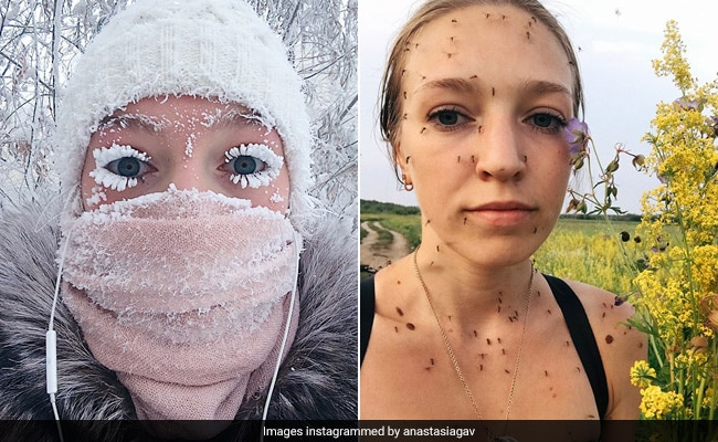 Remember The Woman With Frozen Lashes? Now Her Summer Pic Is Going Viral