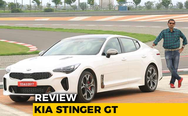 2018 Kia Stinger Gt Exclusive India Track Test