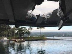 "Volcanic Lava ""Bomb"" Injures 23 People On Tour Boat In Hawaii"