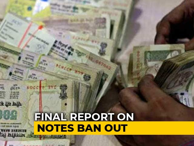 Video : Over 99 Per Cent Banned Notes Back In System, Says RBI Report
