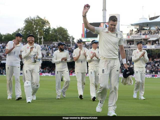 2nd Test: James Andersons Five-Wicket Haul Demolishes India On Day 2
