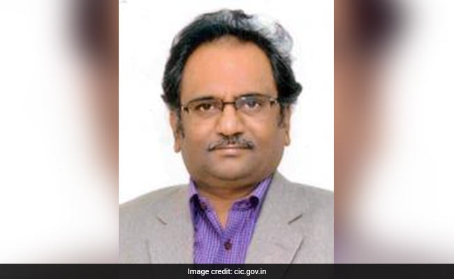 Information Commissioner Sridhar Acharyulu Opposes RTI Act Amendment