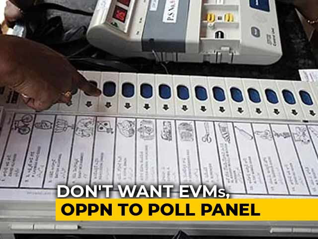 Video : Where Do You Repair EVMs, Opposition Asks Election Commission