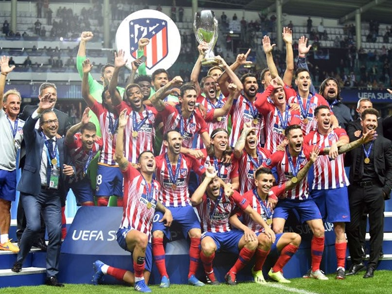 UEFA Super Cup: Atletico Madrid Come Back To Beat Julen Lopetegui