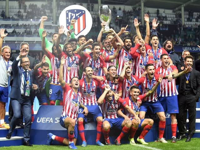 UEFA Super Cup: Diego Costa double helps Atlético beat Real Madrid 4-2