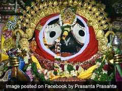 "Lakhs Of Devotees Watch Lord Jagannath's <i>""Suna Bhesha""</i> In Puri"