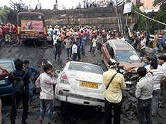 Road Traffic Affected, Train Services Hit Due To Kolkata Bridge Collapse