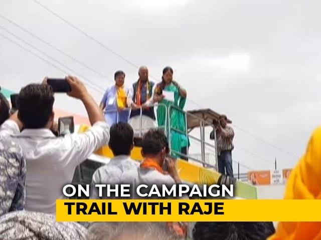 Video : Vasundhara Raje On The Rajasthan Campaign Trail