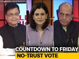 Video : Who Stands Where? Countdown To Friday's No-Trust Vote