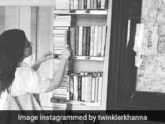 Twinkle Khanna's Sister Rinke Caught Her 'Raiding Bookshelf.' She Wasn't Pleased