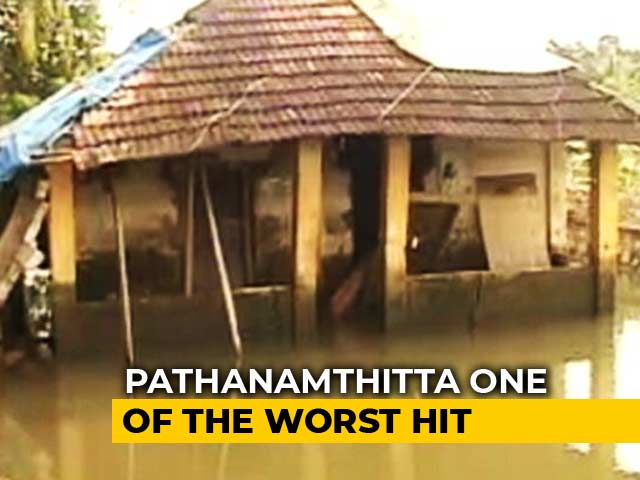 Video: Thousands Of Homes Damaged In Kerala's Pathanamthitta