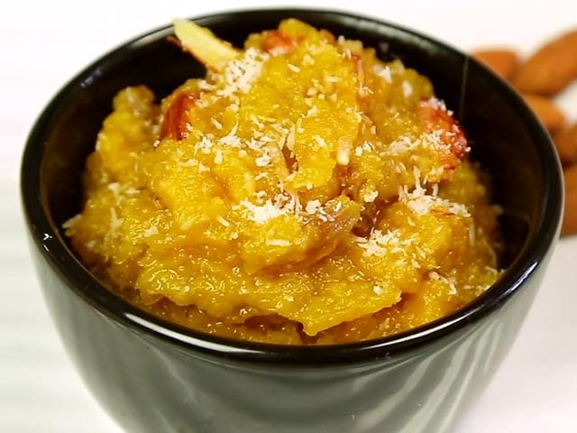 Pumpkin and Apple Halwa