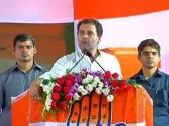 """""""If Elected, We Will Give You GST,  Not Gabbar Singh Tax"""": Rahul Gandhi"""