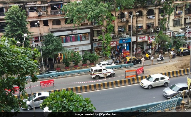 Mumbai's Parel Flyover Closed For Traffic After Water Pipe Bursts