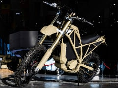 Kalashnikov SM-1 Off-Road Electric Motorcycle Unveiled