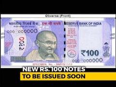 Video: New Rs. 100 Note In Lavender Features Gujarat's 'Rani Ki Vav'