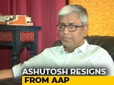 "Video : ""Not In This Lifetime"": Arvind Kejriwal Rejects Ashutosh's Resignation"
