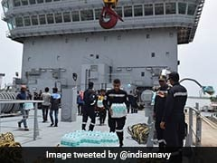 Navy Steps Up Rescue, Relief Efforts In Flood-Hit Kerala