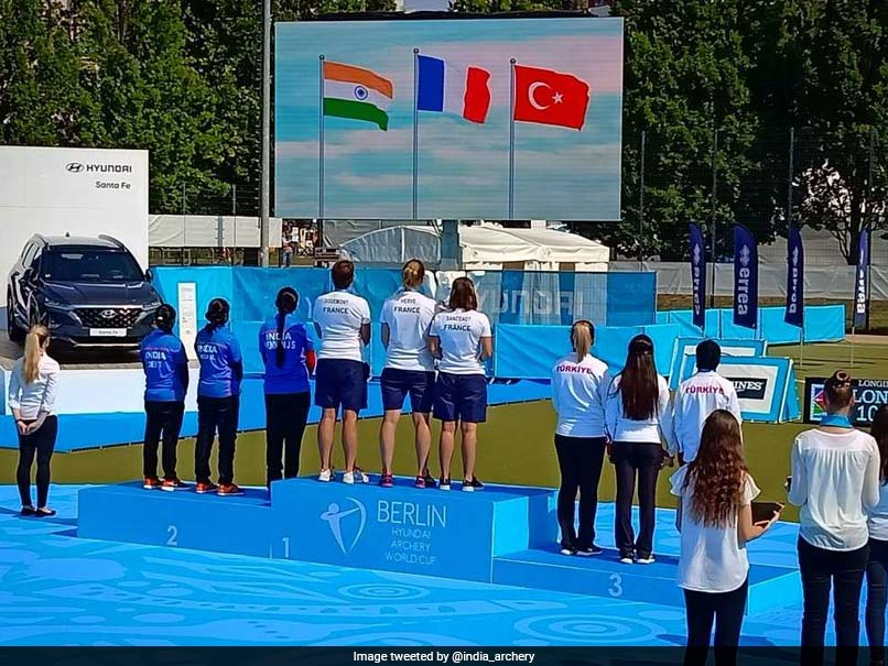 Archery World Cup 2018: India Womens Compound Team Bags Silver