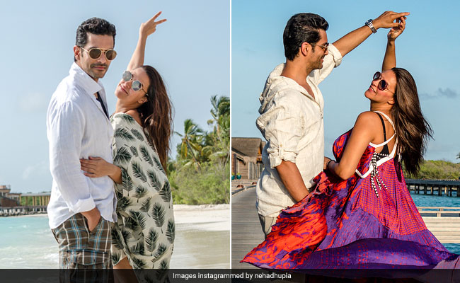 Neha Dhupia's Pregnancy Wardrobe Was On Fleek Even Before She Announced Her Pregnancy