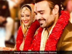 Mahaakshay Chakraborty And Madalsa's Wedding 'Went Off Smoothly,' Says His Mother-In-Law