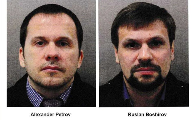 Russian State TV To Air Interview Of 2 Men Accused By UK In Spy Poisoning