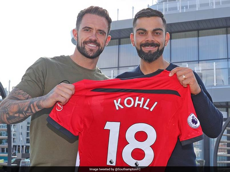 Virat Kohli Gets A Customised Southampton FC Jersey. See Picture