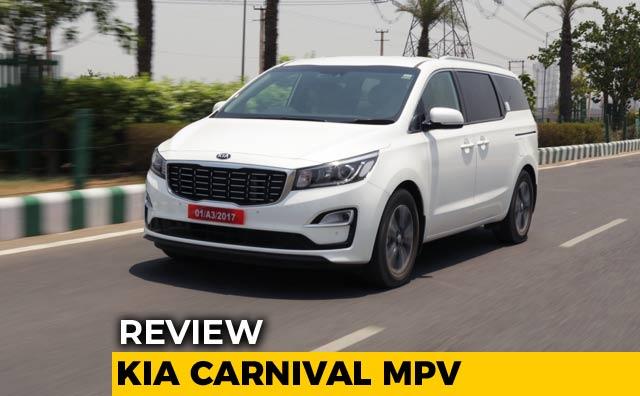 Kia Carnival Mpv Review