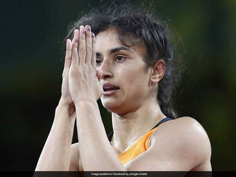 Asian Games 2018: Vinesh Phogat Wins Gold In Womens Freestyle 50kg Event