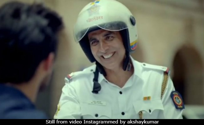 Akshay Kumar's 'Baap Ka Road ' Routine In Road Safety Campaign Is Pure Gold