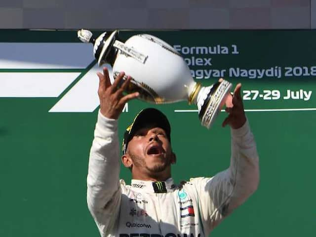 Hungarian Grand Prix: Lewis Hamilton wins to extend title lead