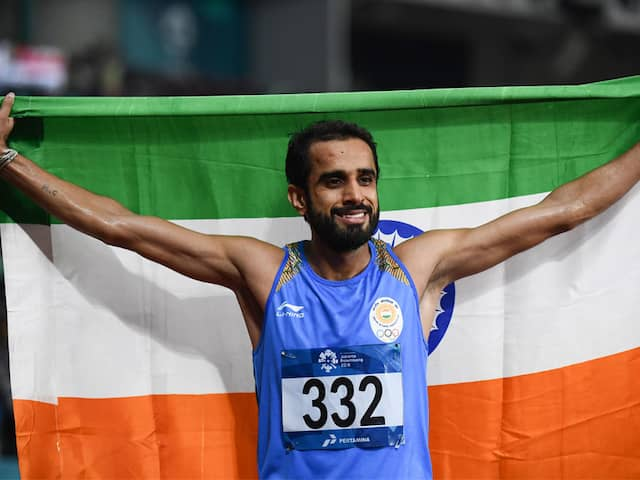 Asian Games 2018: Manjit Singh Wins Gold, Jinson Johnson Clinches Silver In Mens 800M