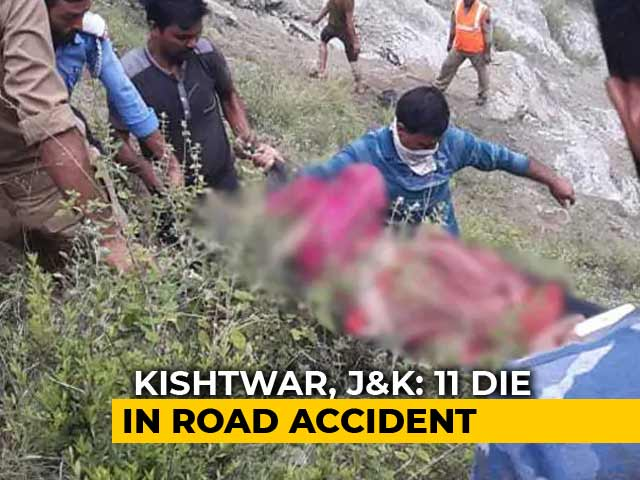 Video : 11 Killed In Road Accident In Jammu and Kashmir, 5-year-old lone survivor