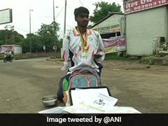 National-Level Para-Athlete Forced To Beg In Streets Of Bhopal
