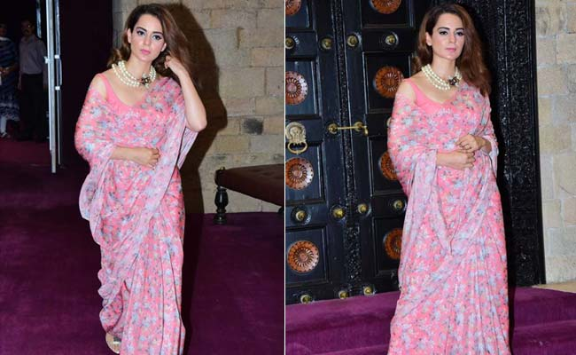 How Kangana Ranaut Is Redefining The Term 'Pretty In Pink'
