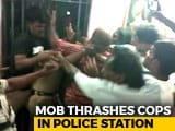 Video : On Camera, Cops Beaten Up Inside Police Station In Andhra Pradesh