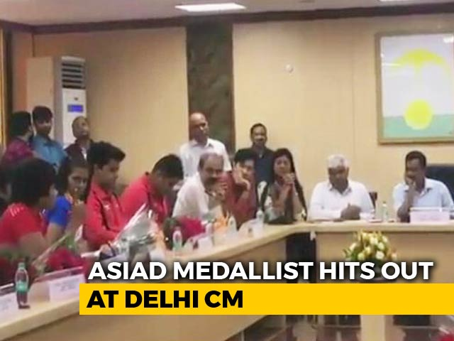 "Video : ""Would Have Won Gold If..."": Asian Games Wrestler Slams Arvind Kejriwal"