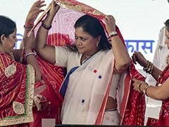 "On Vasundhara Raje's Event To Promote 6,000 Cops, Congress Cries ""Misuse"""