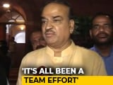 "Video : ""Shiv Sena Is With Us"": Ananth Kumar To NDTV After No-Trust Vote"