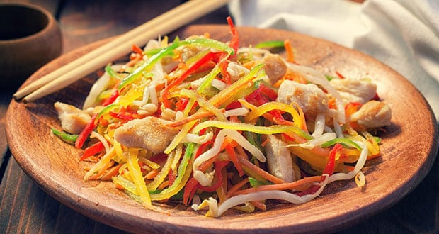 Vegetable Som Tam Salad
