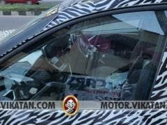 2019 Tata Harrier Cabin Uncovered In Latest Spy Images