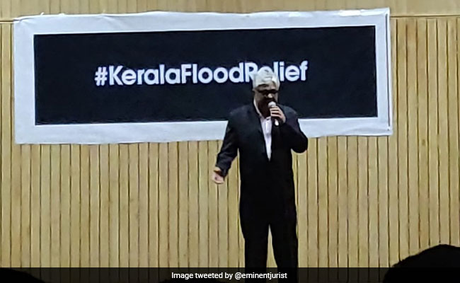 Top Court Judges Sing For Kerala Flood Relief, Chief Justice In Audience