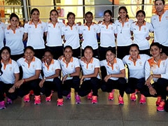 India Hockey Squads Depart For Asian Games 2018