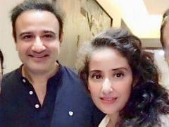 A <i>Saudagar</i> Reunion For Manisha Koirala And Co-Star Vivek Mushran. See Pic