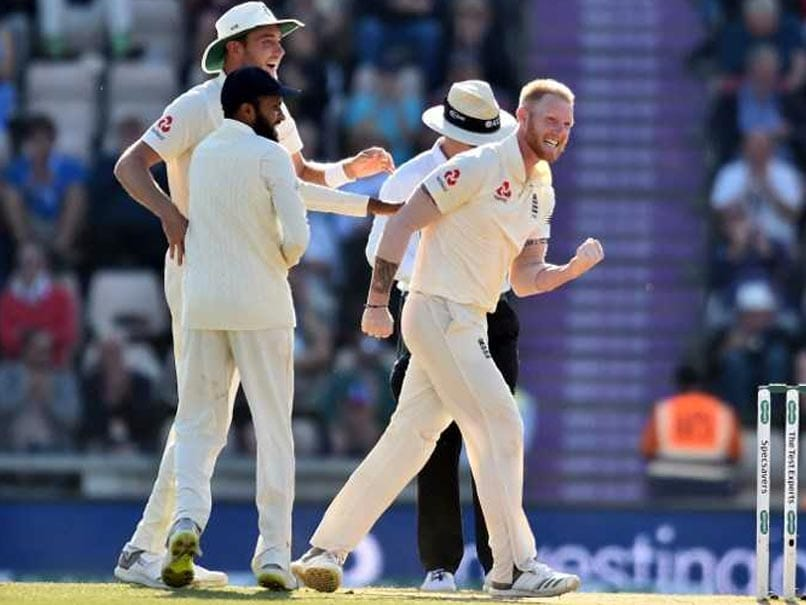 India vs England: Ben Stokes Punches Adil Rashid Accidentally During Wicket Celebration. Watch