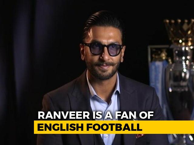 Ranveer Singh's Football Association