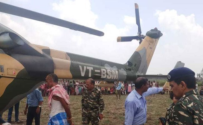 BSF Chopper Carrying CRPF Officials Makes Emergency Landing In Aurangabad