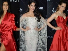 Vogue Awards: Red Alert For Katrina Kaif, Kangana Ranaut. Janhvi Kapoor Takes Opposite Route